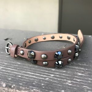 J. Crew Stud Crystal Bracelet